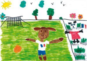 Dessine un animal footballeur - nahele