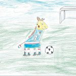 Dessine un animal footballeur - victoria