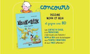 Concours dessine Nouk et blik numéro 196