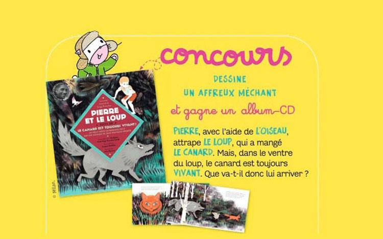 Concours Dessine un affreux méchant magazine 194