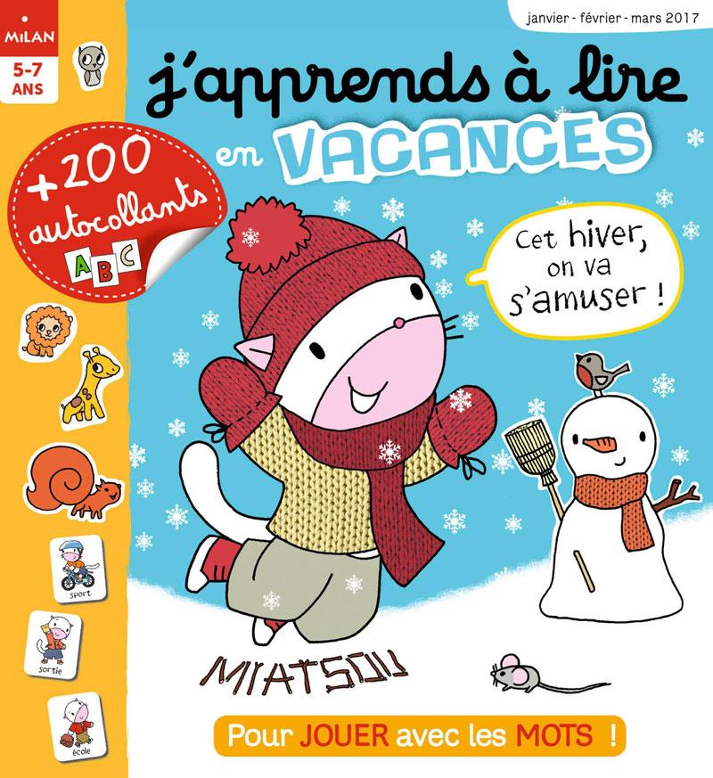 J'apprends à lire vacances d'hiver