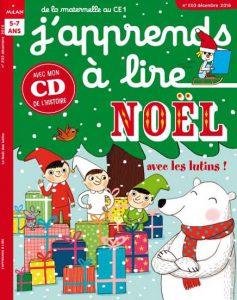 Noël avec les lutins ! J'apprends à lire - Décembre 2016