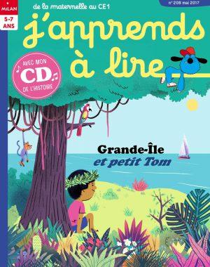 J'apprends à lire magazine - Grande-île et petit Tom