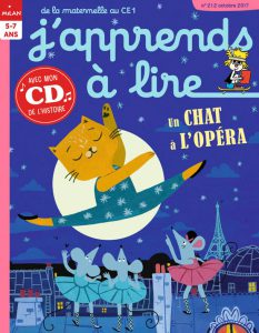 J'apprends à lire : le chat de l'opéra