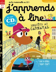 J'apprends à lire : Enquête au Carnaval