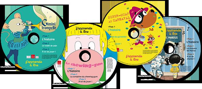 J'apprends à lire : les CD d'histoires du magazine
