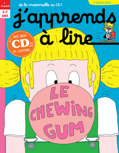 J'apprends a lire - le chewing-gum