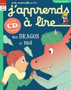 Magazine J'apprends à lire : Mon dragon et moi