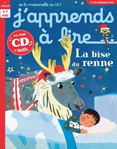 J'apprends à lire magazine : La bise du renne