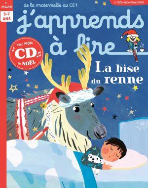 La bise du renne - J'apprends à lire Magazine