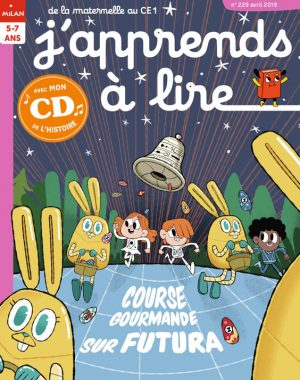 Course gourmande sur Futura - J'apprends à lire magazine