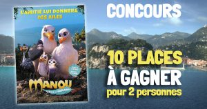 CONCOURS Manou à l'école des goélands