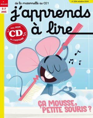 J'apprends à lire : ça mousse petite souris ?