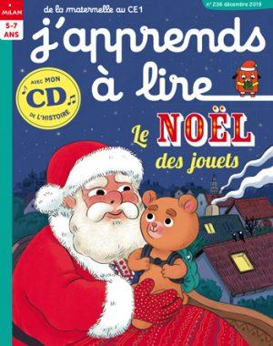 J'apprends à lire magazine : Le Noël des jouets