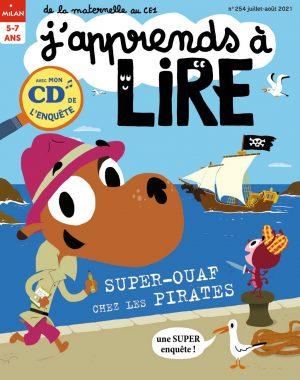 Super-Ouaf chez les pirates - J'apprends à lire magazine