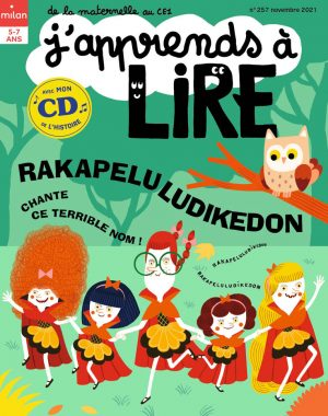 Rakapeluludikedon - J'apprends à lire magazine